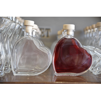 200ml Heart Bottle