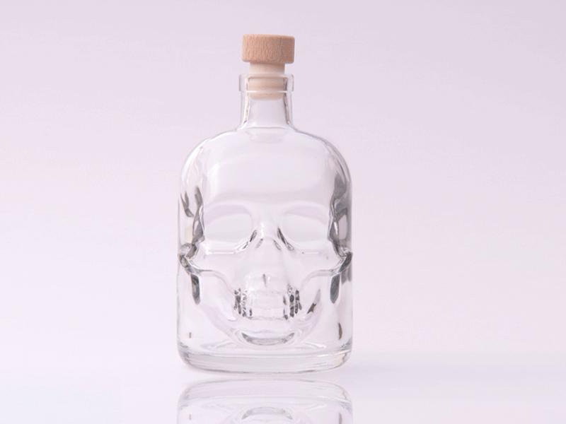 500ml Skull Bottle