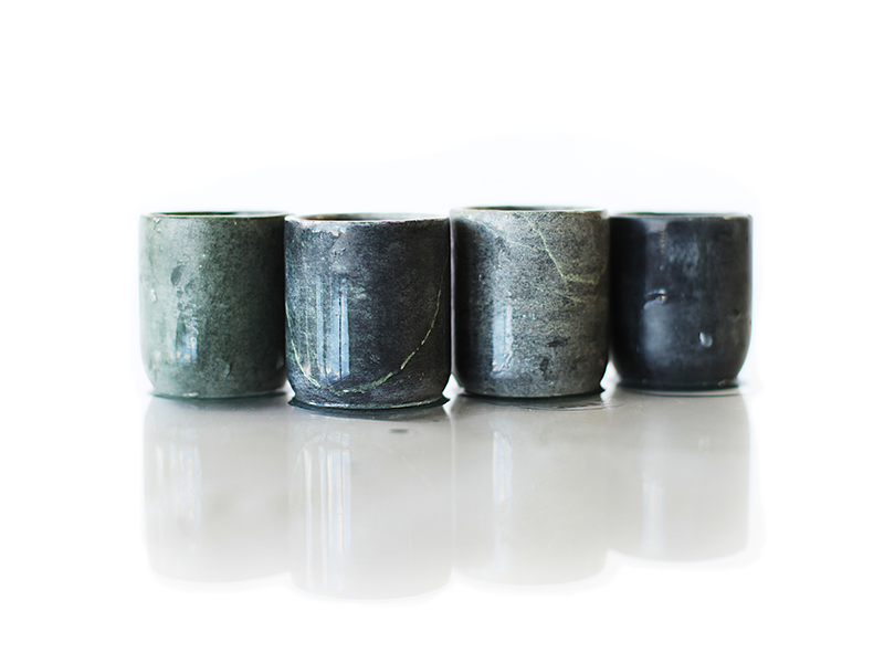 Soapstone Shot Glasses